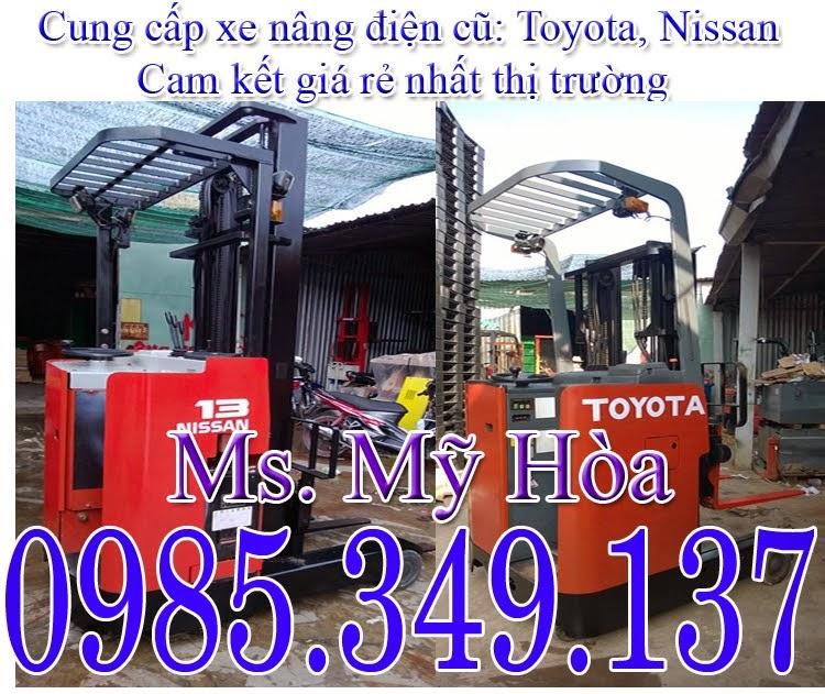 Xe nâng điện Toyota, Nisan