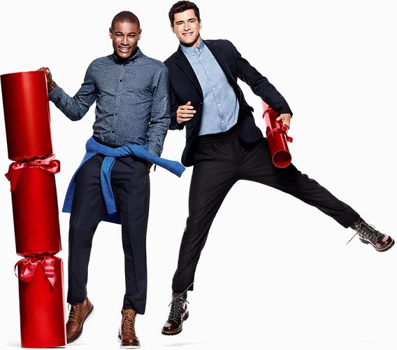 H&M colección Navidad 2015 moda hombre campaña
