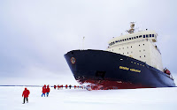 Polar Expedition, Sea, Antarctica, Ice, Ship