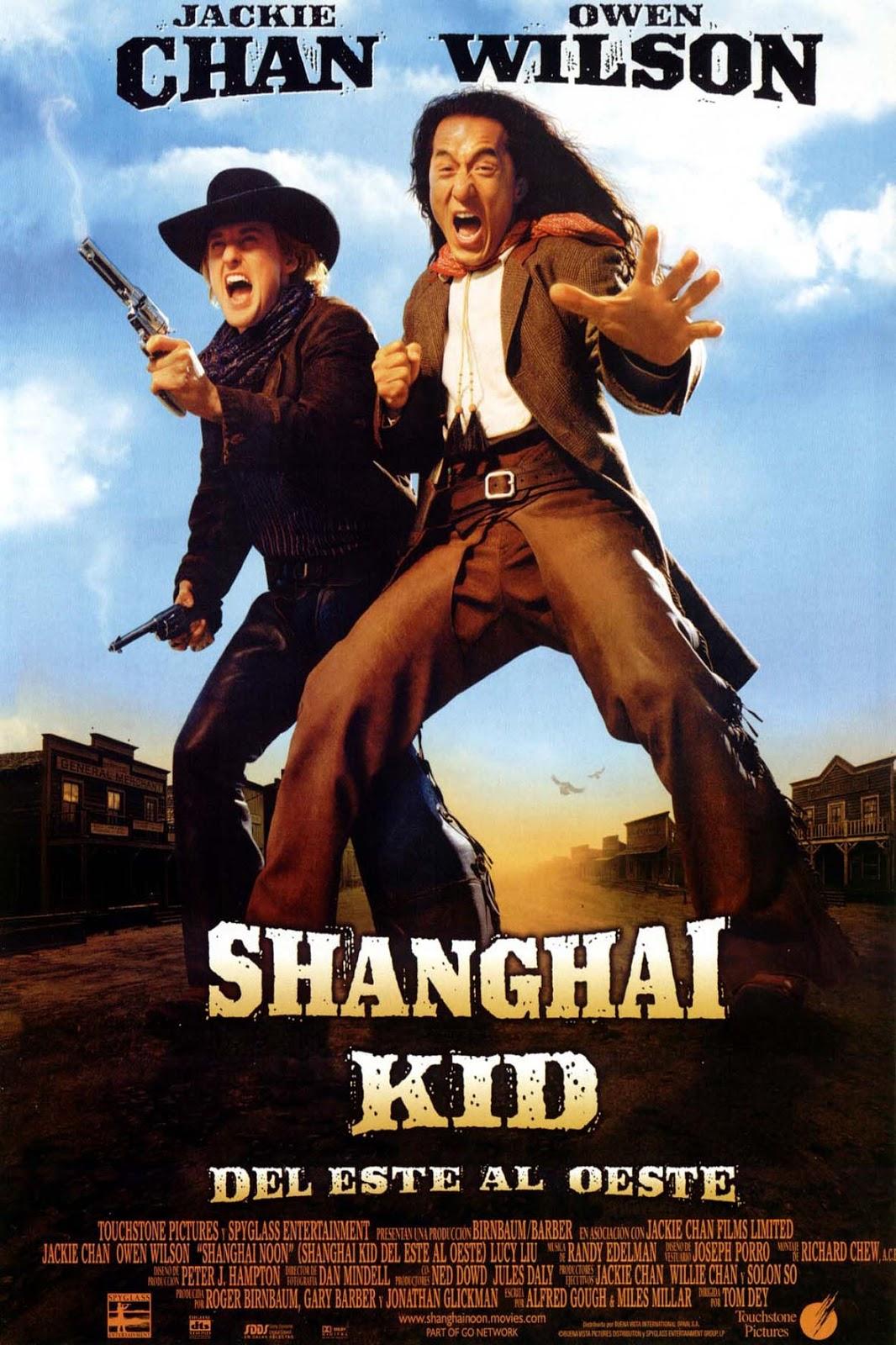 Shanghai Kid, del este al oeste (2000)