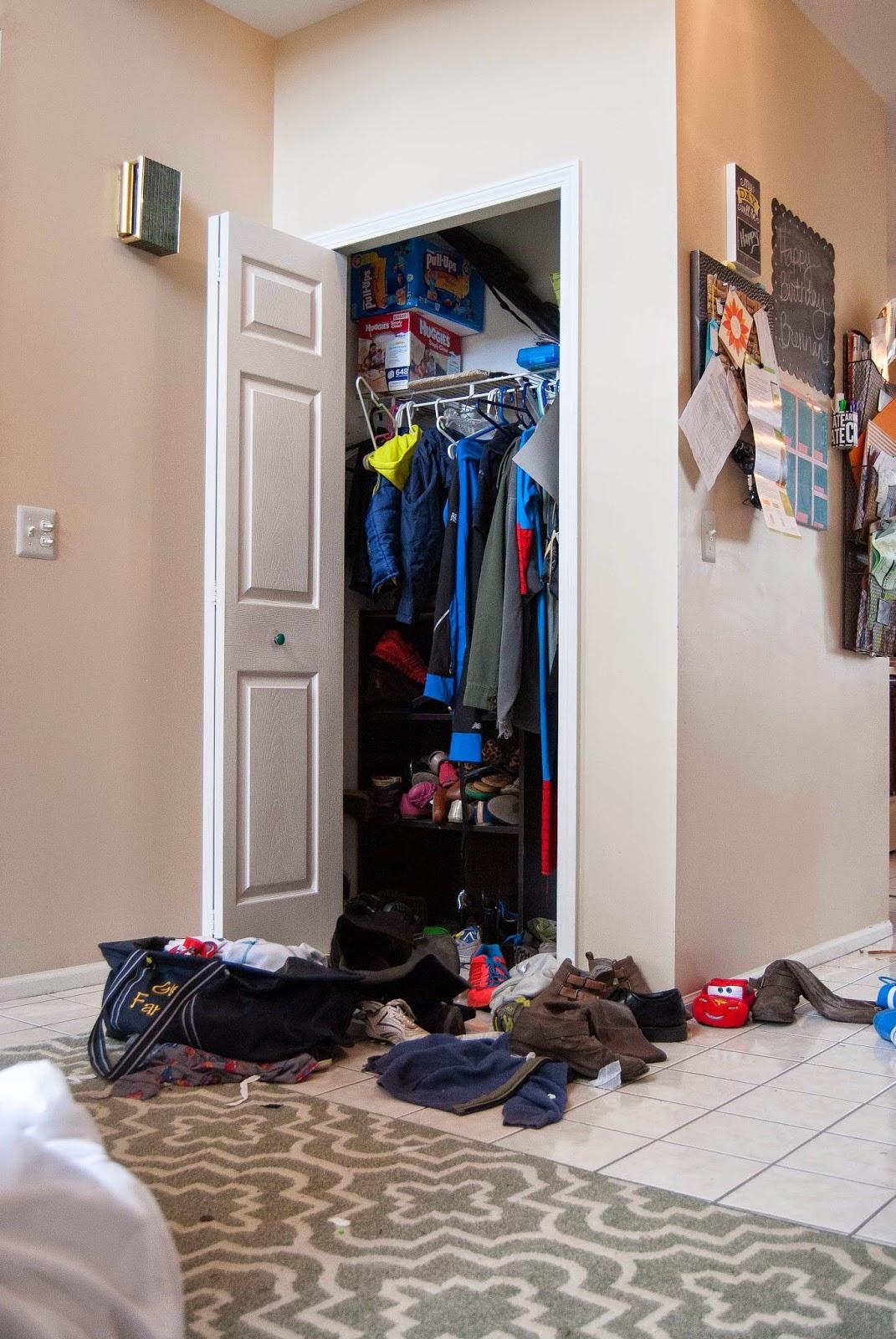 Coat Closet Remodel