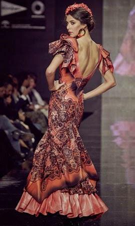 traje flamenca Lina 2014