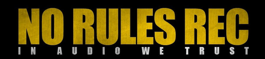NO RULES REC ● AUDIO NEWS