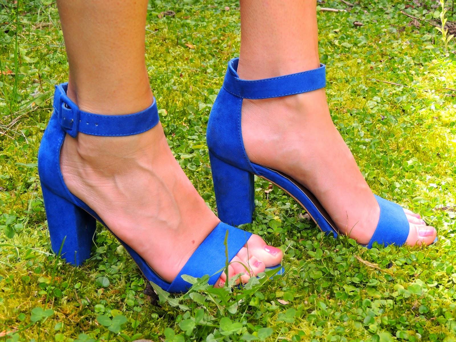 sandalias Primark azul