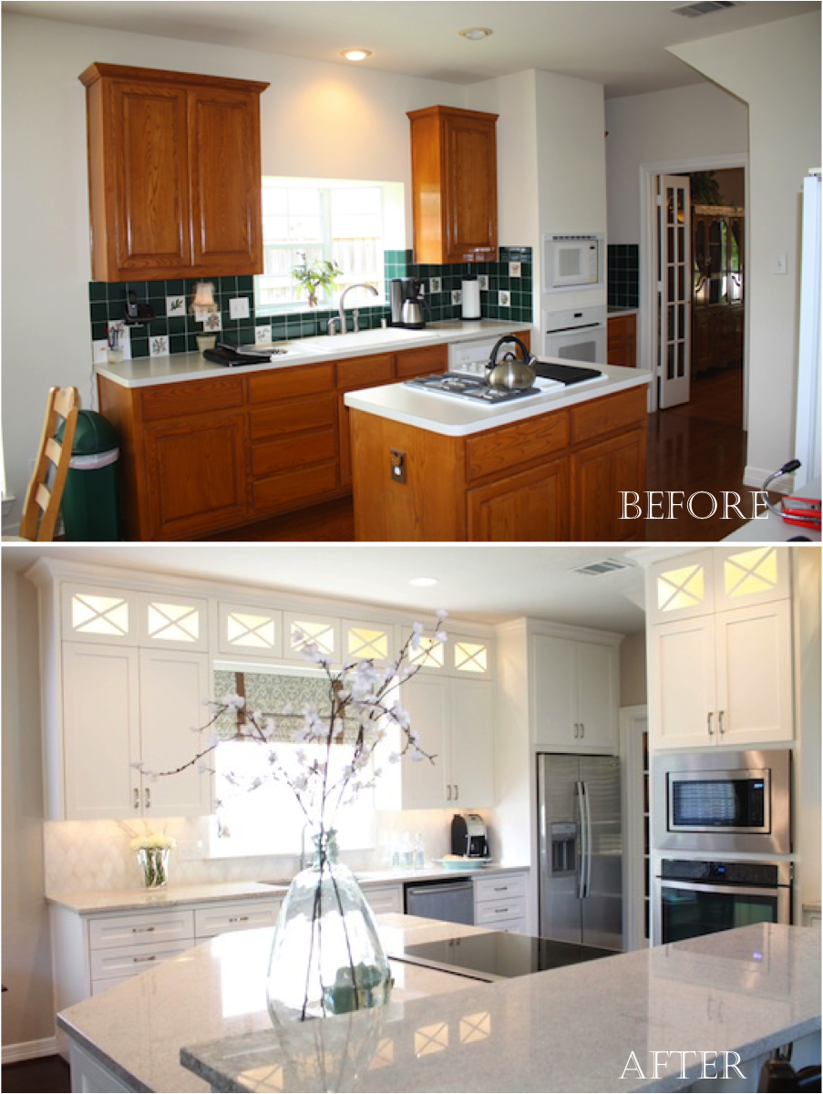Classic with a twist my completed kitchen remodel before and after - Kitchen remodel before after ...