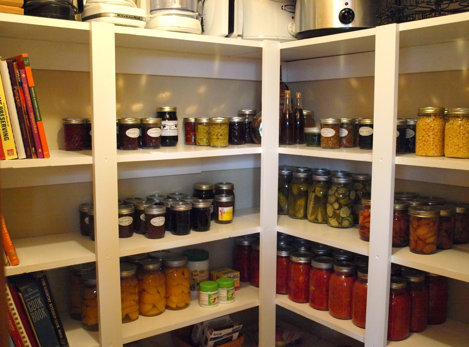 Closet Converted To Pantry Storage Before Kitchen Remodel