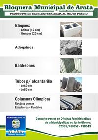 BLOQUERA MUNICIPAL - Click en la imagen para más detalles