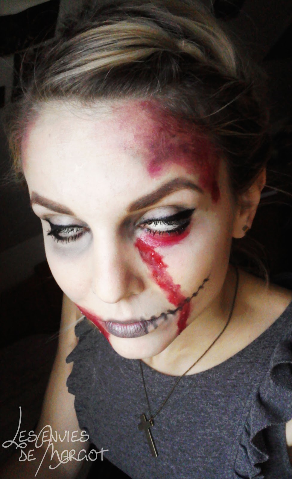 Qui fait peur maquillage images - Maquillage halloween qui fait peur ...