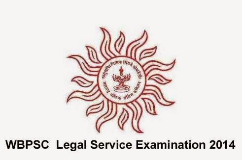 WBPSC Legal Service Examination 2014 for 40 Vacancies