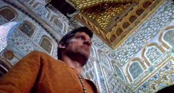 Jamie Lannister en la Sala de los Embajadores del Real Alcázar de Sevilla