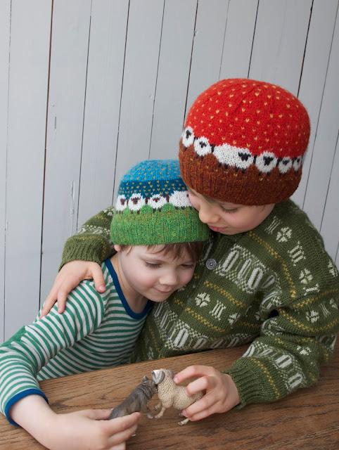 HALVVEGS TIL SHETLAND - My first Baa-ble hats