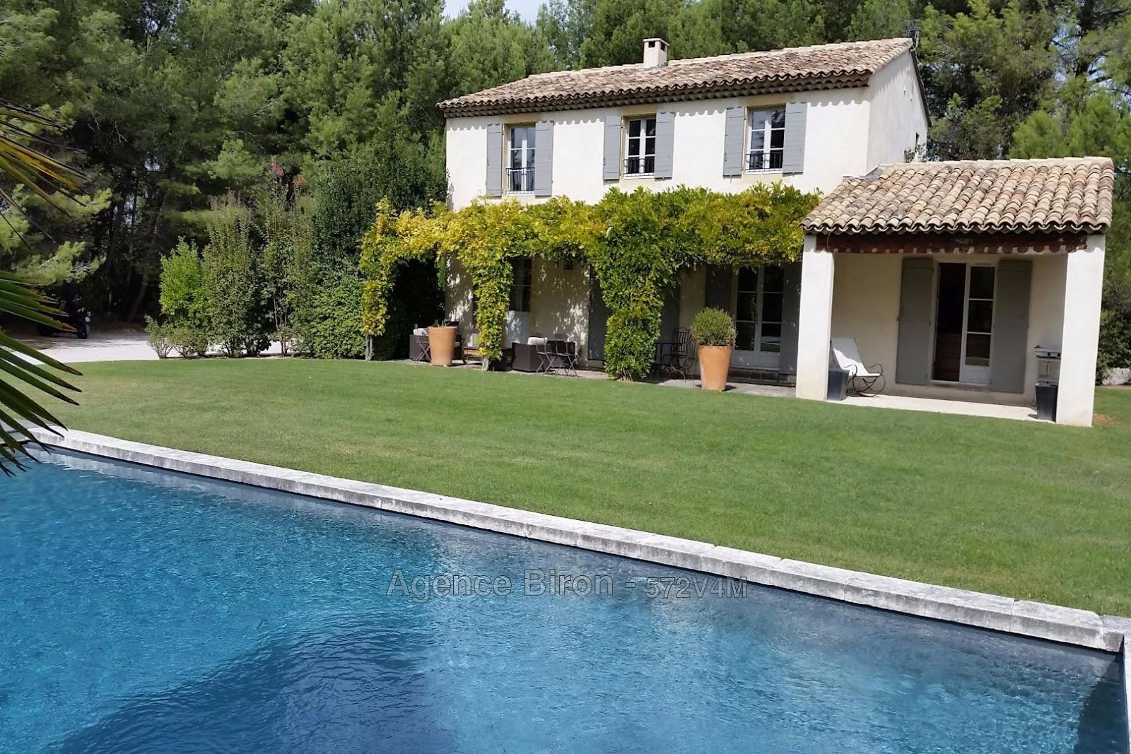 alpilles luberon immobilier vente villa aix en provence