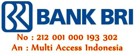 Rekening Bank BRI untuk Deposit di Chip Sakti Pulsa Murah Payment PPOB Lengkap