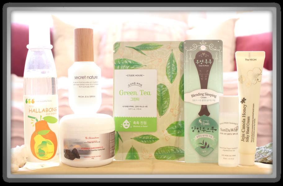 겟잇뷰티박스 by 미미박스 memebox beautybox Special #46 From Jeju unboxing review box look inside