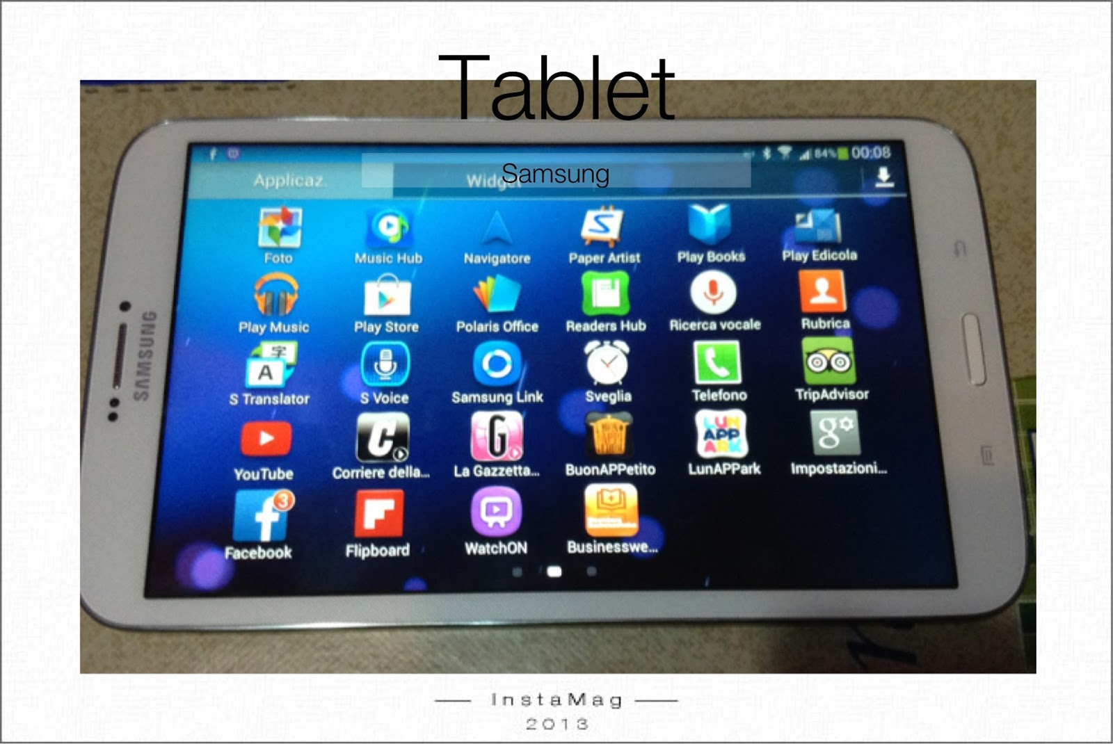 samsung galaxy tab 3 8.0  redcoon.it