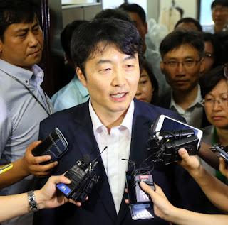 El parlamentario surcoreano Lee Seok-ki