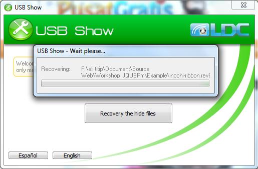 Show USB,بوابة 2013 Cara-Mudah-Mengembal