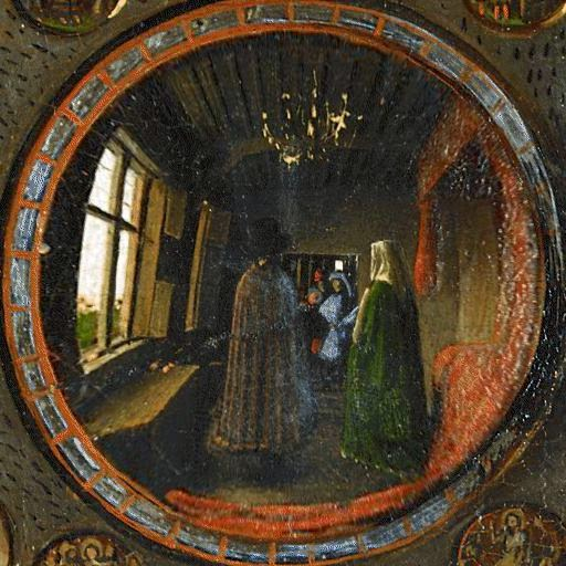 Pictiodany The Arnolfini Marriage Or The Portrait Of