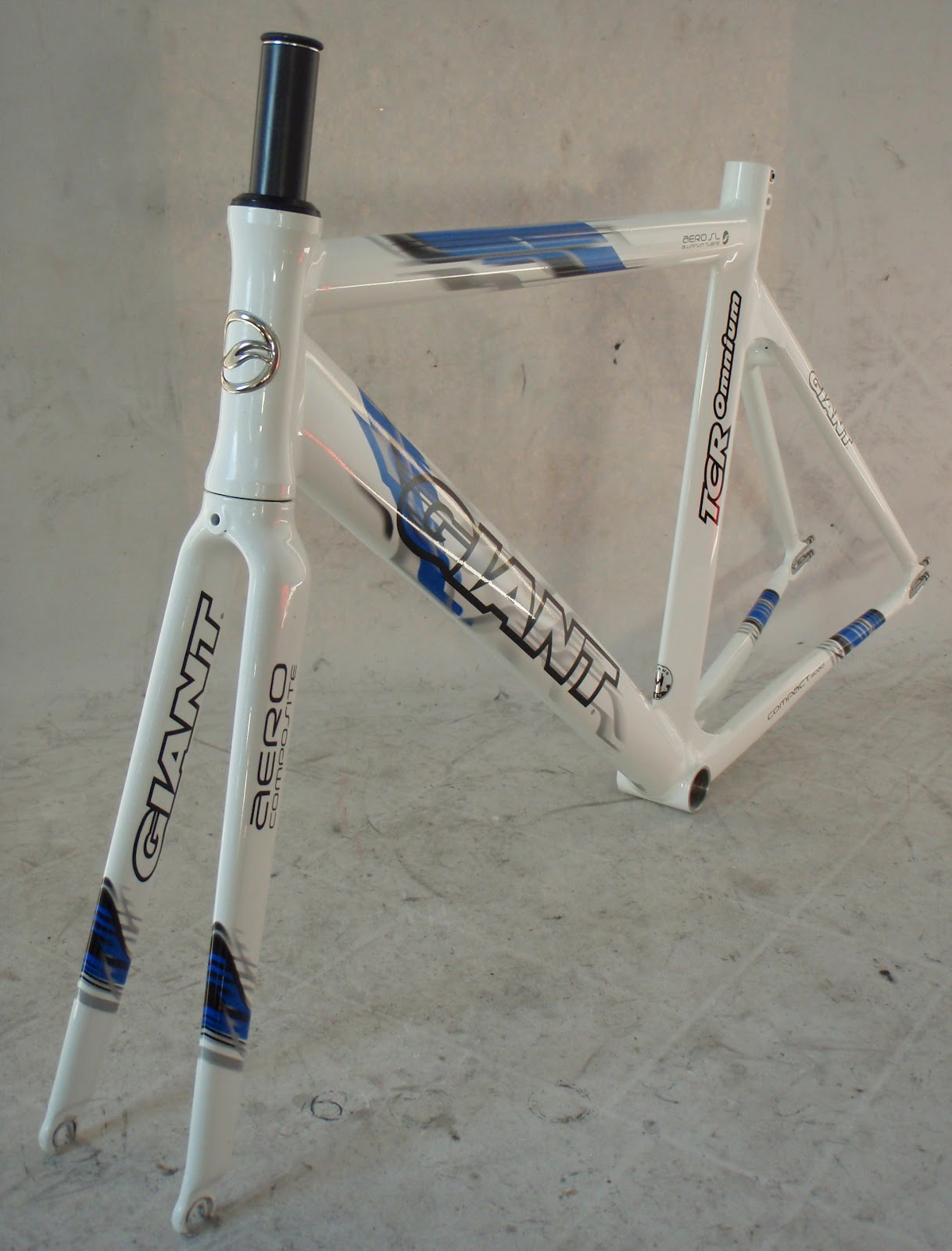 Frame and Wheel Selling Services: 2006 Giant TCR Omnium Size M 50 cm ...