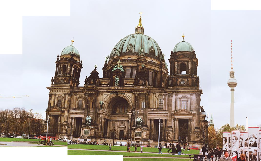 Katedra w Berlinie, architekt: Julius Carl Raschdorff