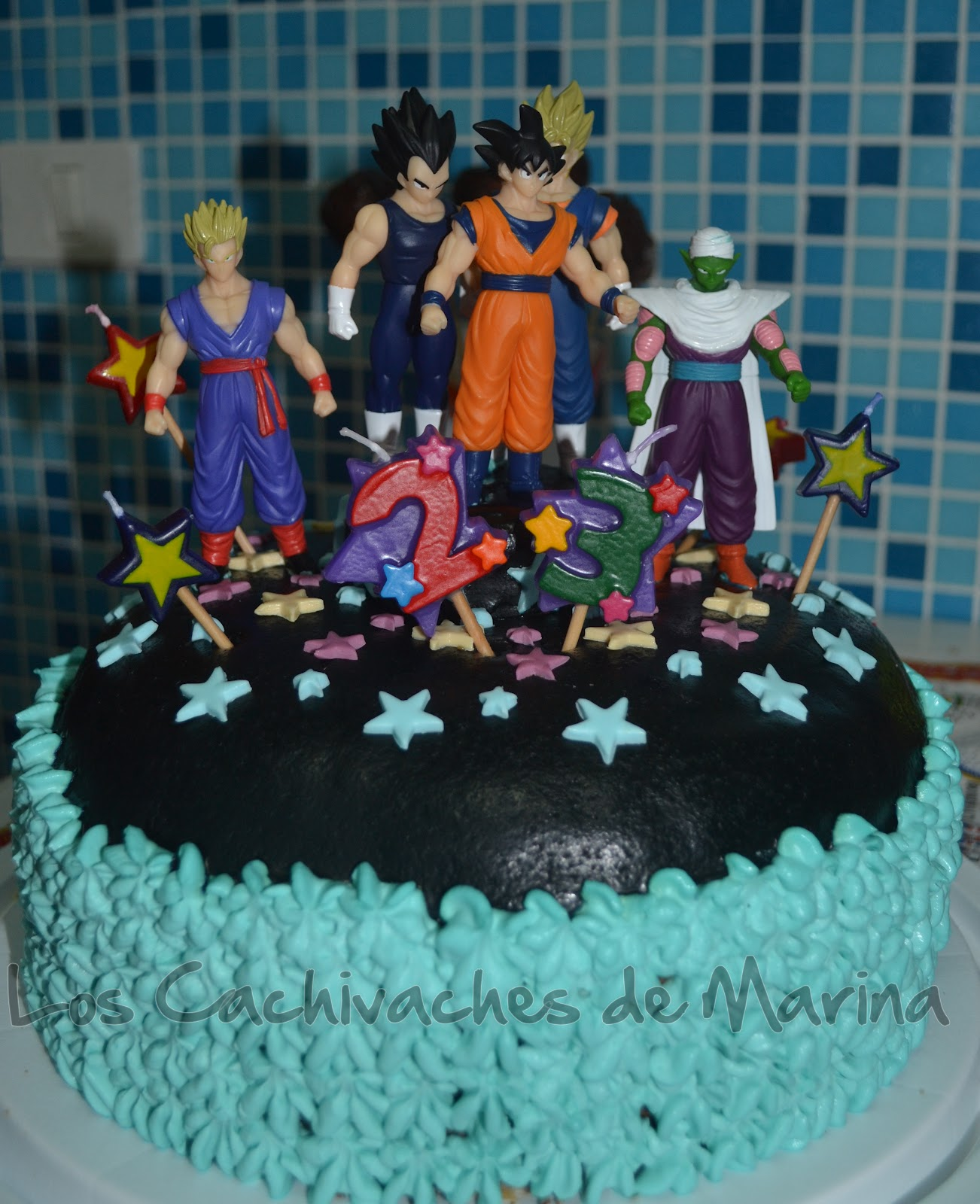 Los Cachivaches de Marina: Tarta de Dragon Ball Z