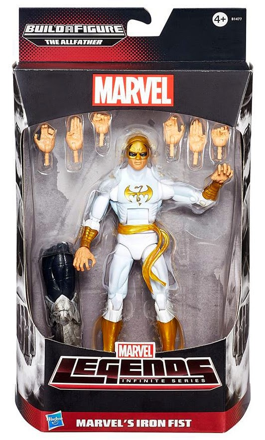 Hasbro - Marvel Legends Avengers Infinite - Iron Fist figure