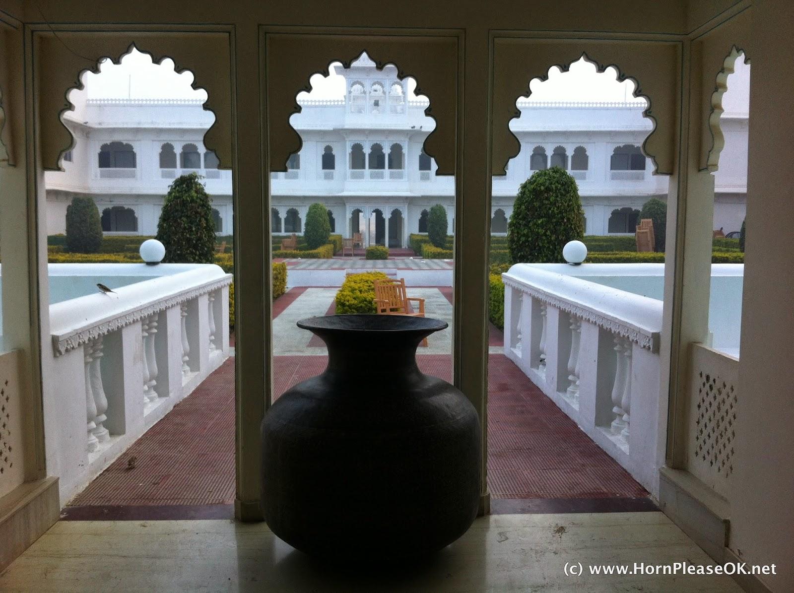 Inside Lake Nahargarh Palace