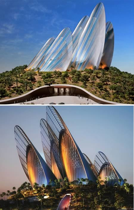 Wing Shape Zayed National Museum (UAE)