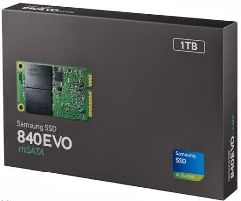 Disponibili dal 2014 il primo SSD con capienza da 1TB di memoria in vendita di Samsung