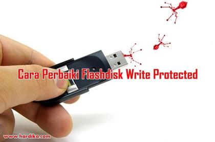 Cara Memperbaiki Flashdisk Rusak Write Protected Via Website