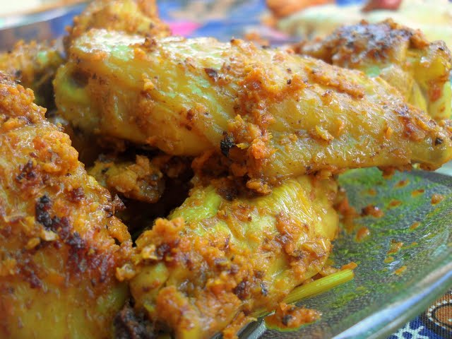 Grilled Turmeric And Lemongrass Chicken Wings Recipes — Dishmaps