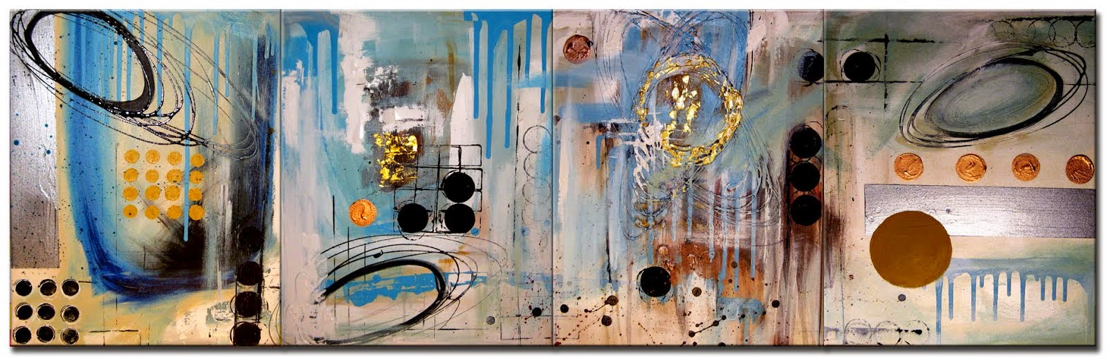 "Abstract Painting ""The Big Dream"" by Artist Dora Woodrum"