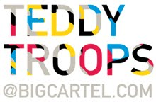 Teddy Troops @ Bigcartel
