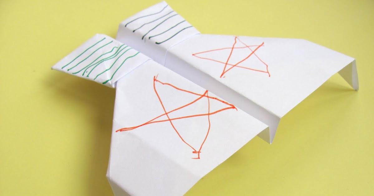 Как сделать бумажный самолетик который долго летает 40