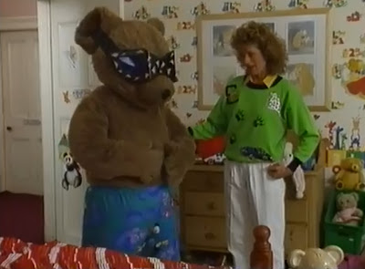 Lizzie Webb and Joggy Bear