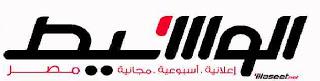 وظائف جريدة الوسيط القاهرة الجمعه 16/8/2013