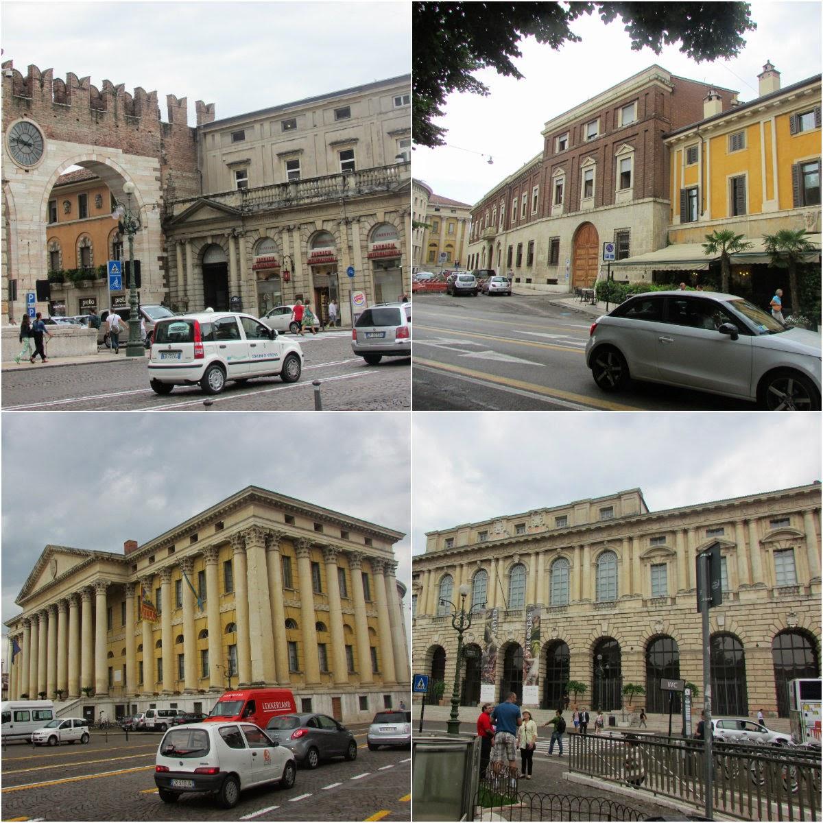 Itália, Verona, muralha, cidade, Centro