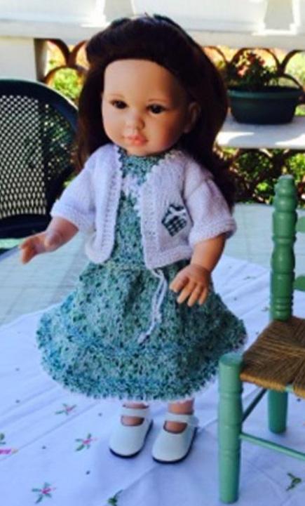 Ccommeceline r alisation de ma p 39 tite maman du jardin bleu for Blythe le jardin de maman