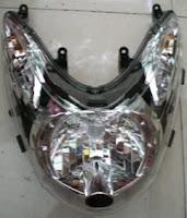 Reflektor/lampu depan Yamaha Mio Soul.