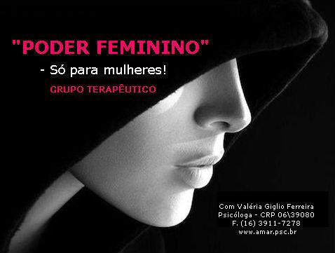 PODER FEMNINO - Só para mulheres!