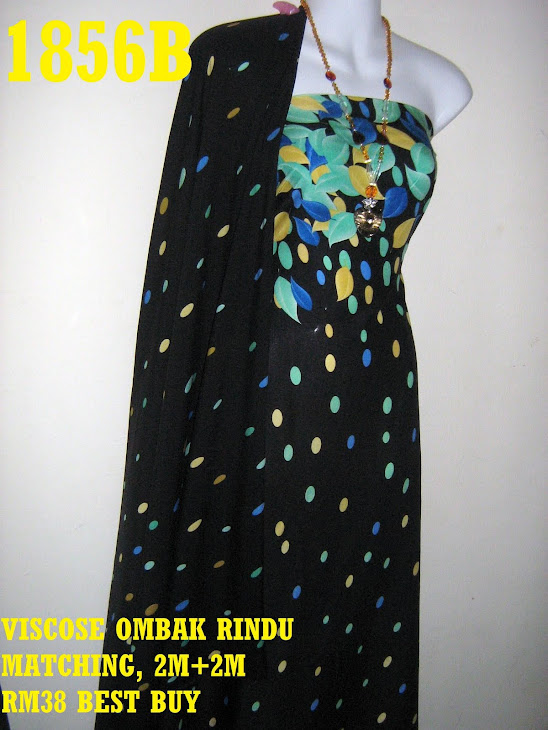 VM 1856B: VISCOSE MATCHING OMBAK RINDU, 2M+ 2M