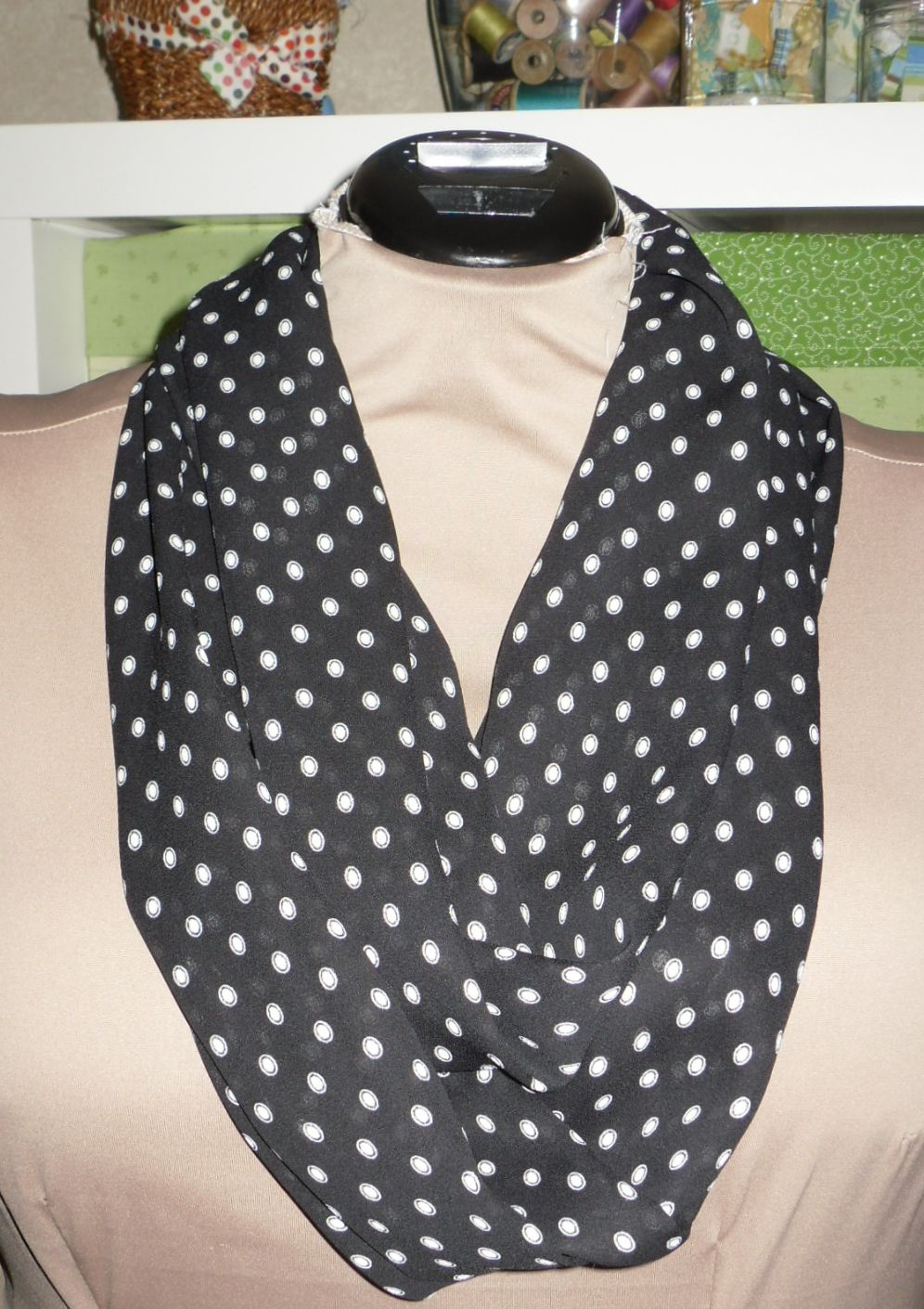 "The other Not-for-Me is this infinity scarf for the ""white elephant"