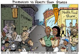 Pharmacies vs. Health Food Stores