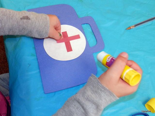 tippytoe crafts doctor s kit