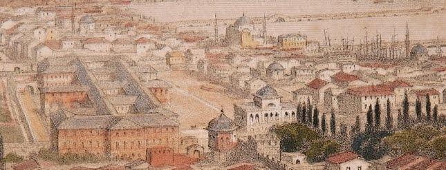 Babıali ve Hazine-i Evrak'ın En Eski Resmi