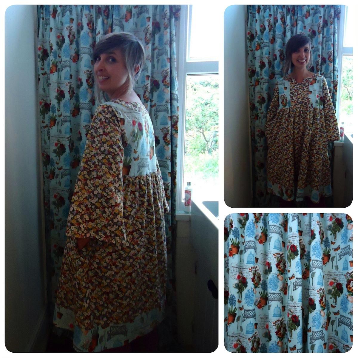 Harriet's kitchen curtains