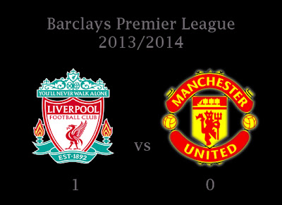 Liverpool v Manchester United Results Barclays Premier League 2013