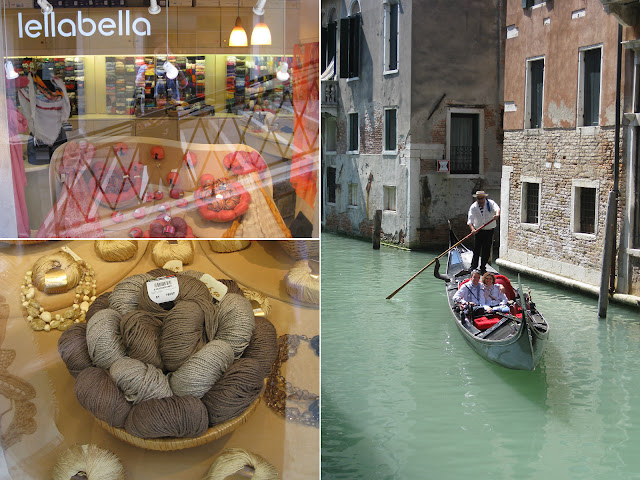 Yarn shopping in Venice