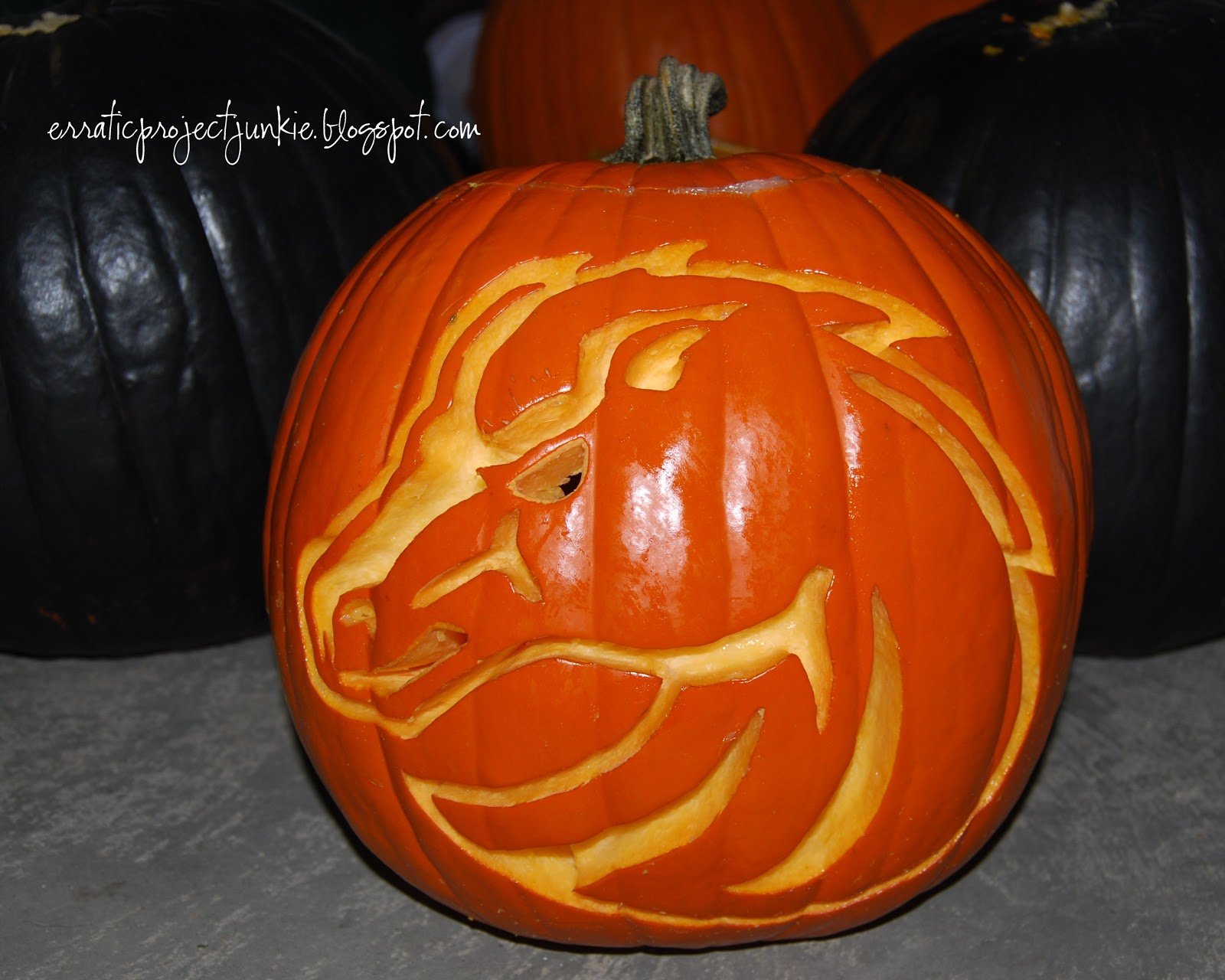 Erratic Project Junkie: Pumpkin Preview #5 - Continuation of the ...