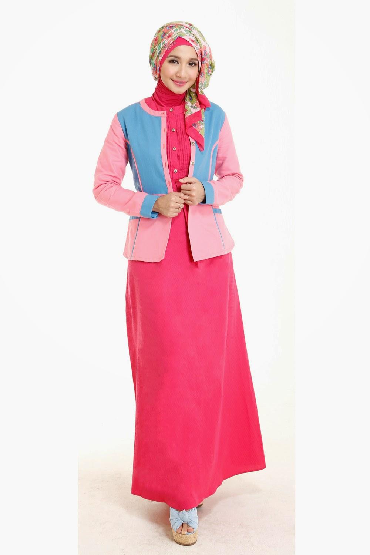 23 Contoh Model Baju Muslim Artis Masa Kini Kumpulan Model Baju